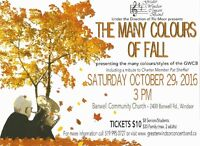 """Greater Windsor Concert Band """"The Many Colours of Fall"""" Concert"""