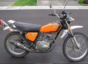 *WANTED*  Exhaust for 1974 Honda XL175