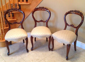 Chairs - Mahogany - $150.00 each