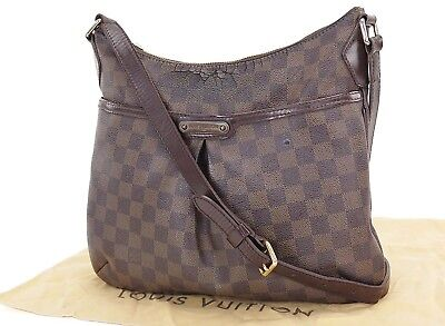 Auth LOUIS VUITTON Bloomsbury PM Damier Ebene Cross Body Shoulder Bag #27177