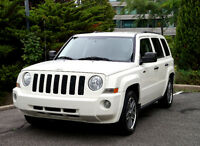 2009 Jeep Patriot North Edition 4X4  impeccable 84 000 km