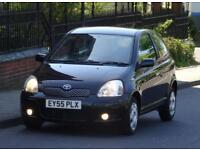 Toyota Yaris 1.0 998cc VVT-i Colour Collection 3 Doors, Black, 76k Low Mileage
