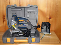 MAXIMUM Two-In-One Jigsaw, 6A, Hawk Laser Very Good Condition