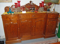 ONE of A KIND! Antique Exquisite sideboard ~ amazing workmanship
