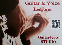 Guitar and Voice-Singing Lessons
