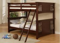 Double over Double  Bunkbed Set - only 1 available !!!!!!!!!