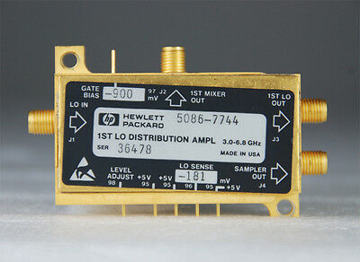 Hp Agilent 1st Lo Distribution Amplifier Yto Yig Oscillator 6.8 Ghz 5086-7744