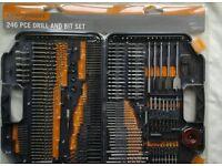 246 piece Craftright drill bit set