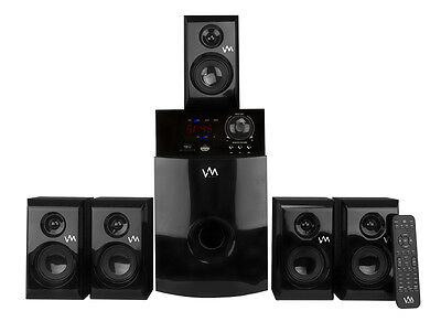 Buy audio electronics home theater - Vm Audio Exms582 800w 5.1 Home Multi Media Surround Sound Speakers System Usb/sd