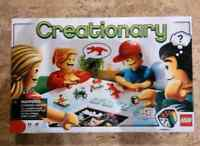 Creationary and other Lego board games