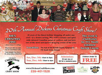 20th Annual Dickens Christmas Craft Show
