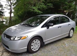 2007 Honda Civic DX-G, Auto - One Owner - 87,000Kms!