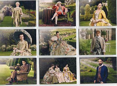 Outlander Season 2 Complete Garden of Versailles Chase Card Set V1-9