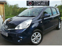 2009 NISSAN NOTE 1.4 ACENTA 5DR - 2 OWNERS - 8 NISSAN SERVICES - LOW MILES
