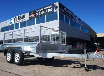 Tandem Trailer Dual Axle Trailer From $2,799 with Cage 1990KG ATM Greenbank Logan Area Preview