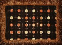 3 pcs- Brand New Embroidered-Beaded sequins Square Tablecloths