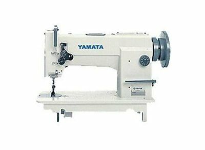 Yamata 0618 Needle Feed Walking Foot Upholstery Sewing Machine- Head Only