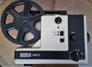 EUMIG 624 D MODEL A - 8MM PROJECTOR