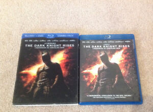Dark Knight Rises - BluRay/DVD Combo - in good condition