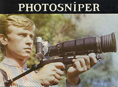 ENGLISH MANUAL for PHOTOSNIPER Tair-3-Phs & Zenit-ES camera INSTRUCTION BOOKLET