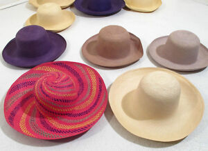 Authentic / Beautiful Ladies Panama Hats -- NEW