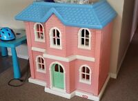 two floor play house for children, kids toy