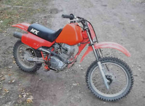 Honda XR80 dirt bike good for learning or for kids