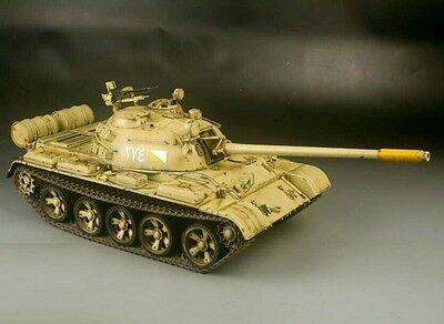 Award Winner Built HOOBEN Huge 1/16 T-55 Main Battle Tank +Metal +R/C Upgrad