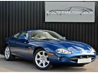 Jaguar XK8 4.0 V8 Coupe Antigua Blue *Genuine 66,000 miles*
