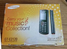 Samsung GT-E2120 on o2 £10