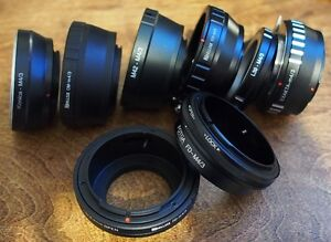 Micro Four Thirds Lens Adapters for Olympus & Panasonic Cameras