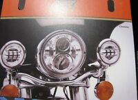 "Harley Davidson 4"" DayMaker L.E.D Aux Lights(Touring & Softtail)"