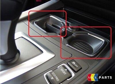 BMW 1 AND 2 SERIES F20 F21 F22 F23 CUP HOLDER STORAGE INSERT LHD ORIGINAL