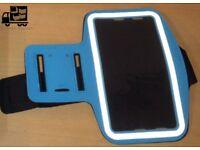 New Iphone 7plus blue reflective exercise armband.