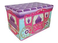 Girls Storage Chest - Girls Carriage Storage Chest