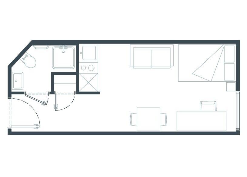 Studio - Kingston - Bills are included