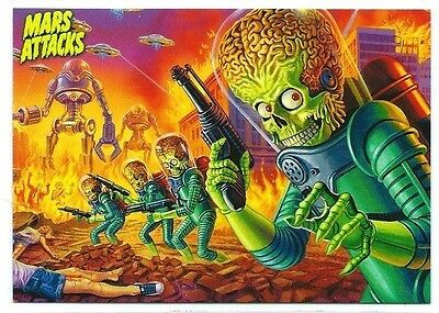2013 Topps MARS ATTACKS INVASION complete master 116-card set inserts chase base