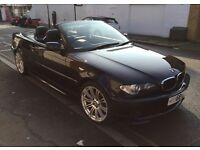 BMW 3 SERIES E46 MSPORT CONVERTIBLE AUTO NO MERCEDES, FORD HONDA , JAGUAR , AUDI , VW , RANGE ROVER