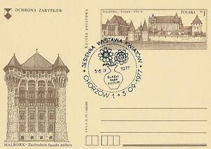 Poland postmark CHORZOW - autumn flower show - Bystra Slaska, Polska - Poland postmark CHORZOW - autumn flower show - Bystra Slaska, Polska