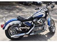 Harley Davidson Sportster Custom 883. 1994. just beautiful. Carb model. 7000 miles from new. New MOT