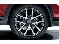 "Fiat 500X 18"" Diamond Finish Matt Grey Two-Tone (Cross Plus)"