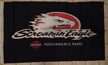Screamin Eagle Harley Davidson performance racing parts flag Ballajura Swan Area Preview