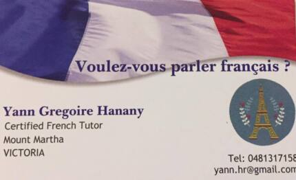 French Lessons with a qualified native !