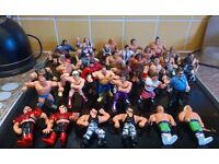 WWF/WWE HASBRO FIGURES . SOME RARE