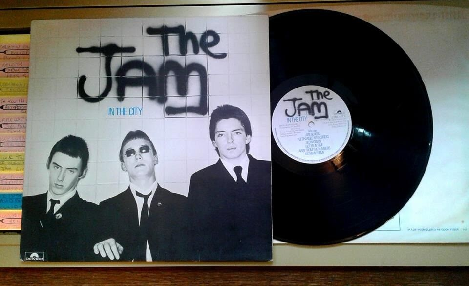 The Jam – In The City, VG, original pressing not a reissue released on Polydor in 1977 Mods Vespa