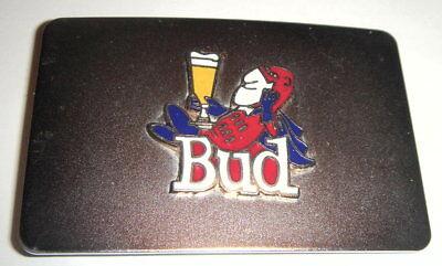 Bud Man Belt Buckle 70's design mint condition