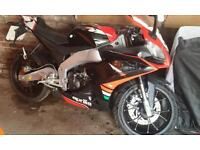 Aprilia rs4 125cc 2014 only 204 miles!!!!!