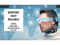 BESPOKE, FAST & RELIABLE - Pro Websites, Event Apps, All Designs, SEO & SEM, Social Automation