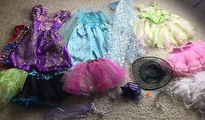 GIRLS Costume PLAY DISNEY PRINCESS DRESS UP LOT Pretend Play 4-6 Mixed