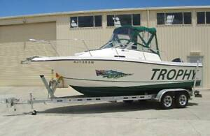 TROPHY 'PRO' 2002 WALKAROUND w/ 150HP MERCURY 'SALTWATER' Moss Vale Bowral Area Preview